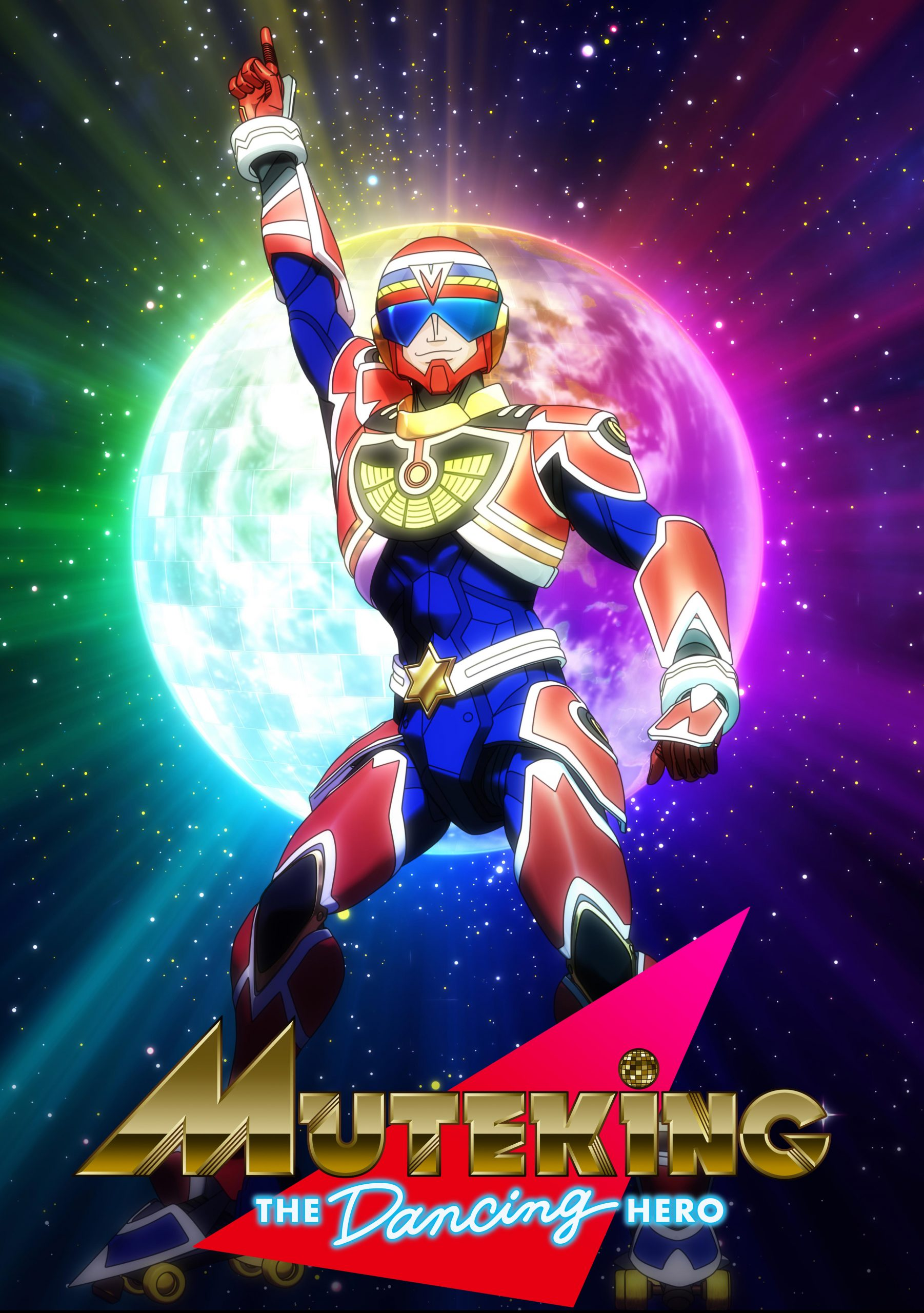 "teaservisual-scaled Tatsunoko &Tezuka Productions Launch New Anime ""MUTEKING THE Dancing HERO"" Fall 2021!!"