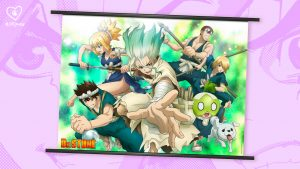 """Crunchyroll Loves Launches """"Dr. STONE"""" Streetwear Collection + Wall Scrolls!"""