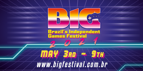 BIG-Festival-2021-logo Brazil's Independent Game (BIG) Festival to Welcome Some of the Industry's Biggest Players to 2021 Event