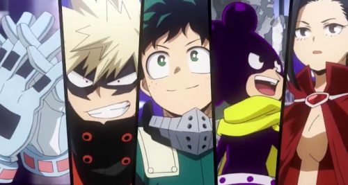 Buku-no-Hero-Academia-My-no-Hero-Academia-Wallpaper-500x267 Boku no Hero Academia (My Hero Academia) Season 5 – Reintroducing Class 1-A!