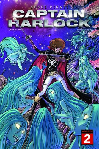 Harlock-Issue-2-Cvr-Andie-Tong-560x420 ABLAZE Announces New SPACE PIRATE CAPTAIN HARLOCK Variant Covers, Series Launches in June