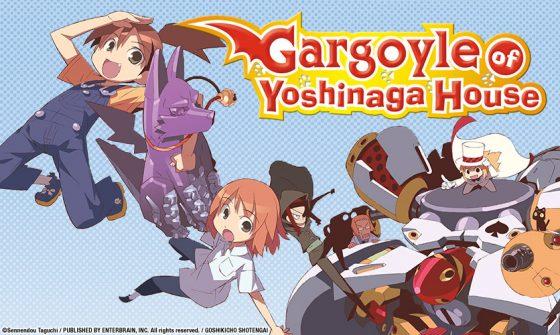 """gargoyle-yoshinaga-house-sentai-836x500-1-560x335 Sentai to Bring Moe Comedy Anime """"Gargoyle of Yoshinaga House"""" to Home Video"""