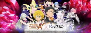 The Seven Deadly Sins: Grand Cross and Re:Zero Collaboration Brings Fantasy, Magic, and Everyone's Favorite Waifus!