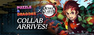 Slash Through Puzzle & Dragons with Demon Slayer: Kimetsu no Yaiba!