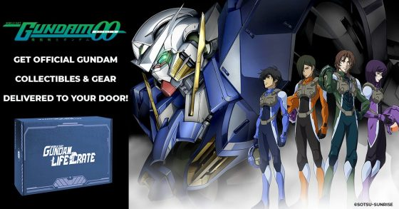 GND-JUN21-00-DMA-ThemeArt-560x280 The Mobile Suit Gundam Life Crate Collection Continues with 00!