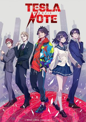 "Spy Wars Anime ""Tesla Note"" Arrives 2021!!"