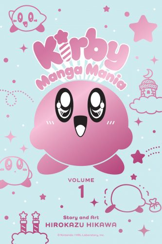 """kirby-manga-mania-vol-1-333x500 """"Kirby's Manga Mania"""" to Publish for the First Time in English this June"""