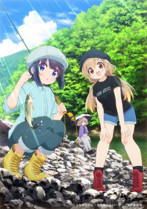 """Fishing Anime """"Slow Loop"""" Reveals Promo Video, Visual and Characters!!"""