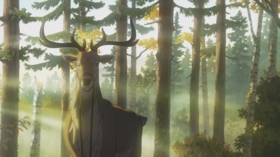 """Shika-no-Ou-The-Deer-Kngmain-550x309-1 GKIDS Acquires North American Rights to """"The Deer King"""", Plans Theatrical Release for 2022"""
