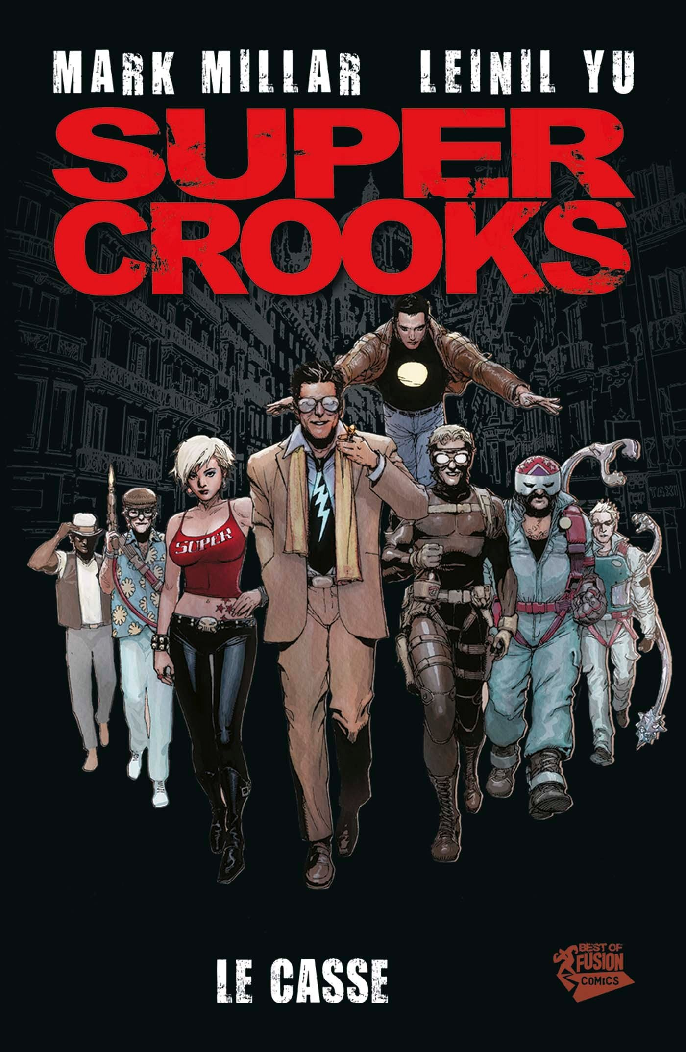 "Super-Crooks-KV-scaled ""Super Crooks"" Coming to Netflix; Unveiled Visual & Staff"