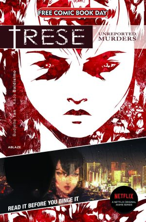 Netflix's TRESE Anime Comes Out Today! Graphic Novel Already Sold Out