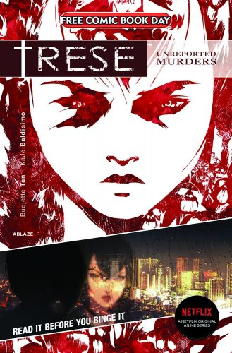 TRESE-GN-FCBD-2021-cover-329x500 Netflix's TRESE Anime Comes Out Today! Graphic Novel Already Sold Out