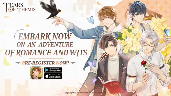 """Tears-of-Themis-KeyArt-700x394 Romance Detective Game """"Tears of Themis"""" Comes to Mobile Summer 2021; Pre-Registration Earns Rewards"""