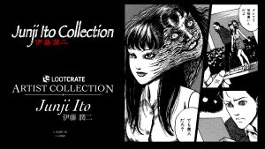 Junji Ito Kicks Off Loot Crate's Artist Collection with 4-Crate Series