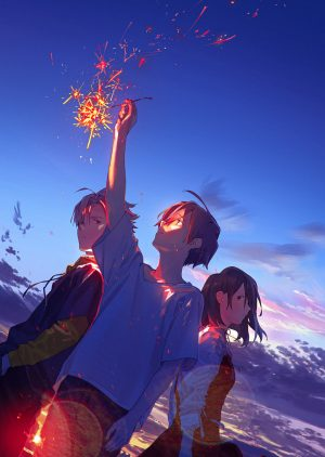 """Anime Movie """"Summer Ghost"""" Originated from Beautiful Illustration by loundraw Out This Fall!"""
