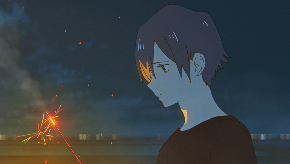 """summer-ghost-kv Anime Movie """"Summer Ghost"""" Originated from Beautiful Illustration by loundraw Out This Fall!"""