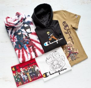 Champion Launches First Anime Collection Ever In Collaboration With Naruto