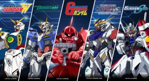Gundam Capsule Collection Announced by Loot Crate