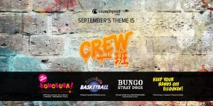 """Celebrate Summer with Your Best Buds and Crunchyroll's Summer Loot Crate, """"Crew""""!"""