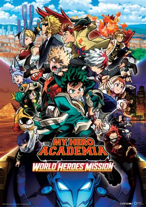 Funimation Brings My Hero Academia: World Heroes' Mission to Theaters This October!
