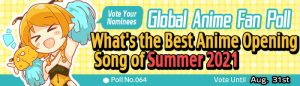 [Honey's Anime Fan Poll Results] What's the Best Anime OP of Summer 2021?