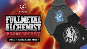 Crunchyroll Loves Launches Exclusive Fullmetal Alchemist: Brotherhood Capsule Collection