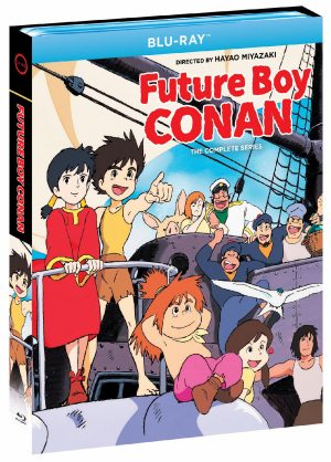 """""""Future Boy Conan: The Complete Series"""" Available In 4-Disc Blu-Ray Set On November 16!"""