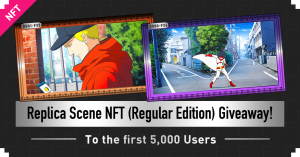 Anime Scene (Regular Edition) NFT Present Campaign Launch! Limited to First 5,000 Entries!