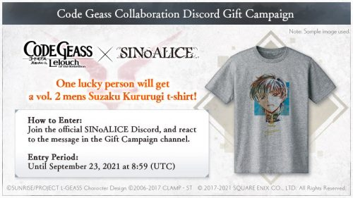 SINoALICE-x-Code-Geass-Colab-560x315 SINoALICE Announces Collaboration With Hit Anime Code Geass