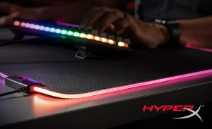 New HyperX Pulsefire Mat RGB Mouse Pad Brightens the Gaming World